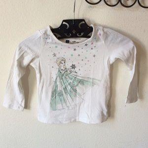 Disney Shirts & Tops - Disney Baby Gap Frozen Elsa Long Sleeve Tee